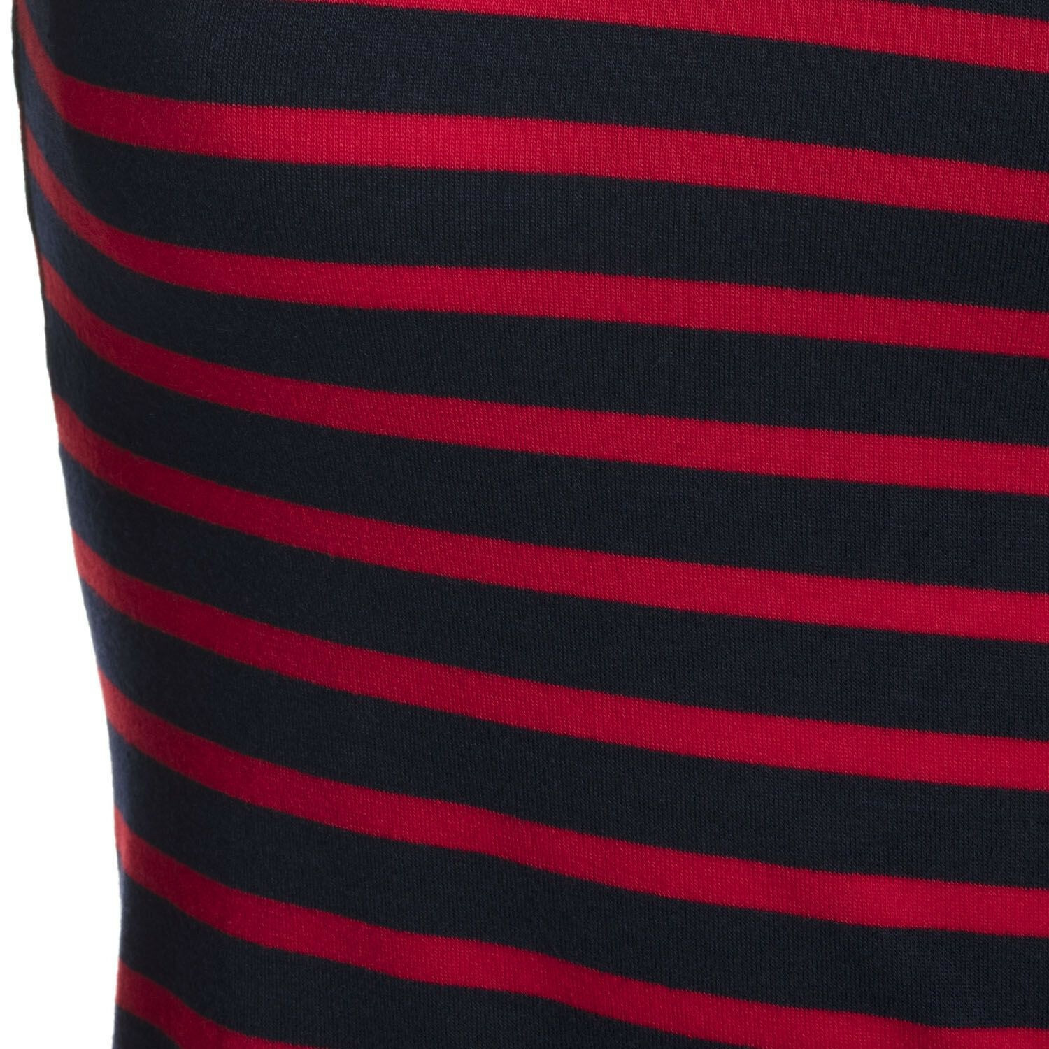 NAVY AND RED LONGSLEEVE