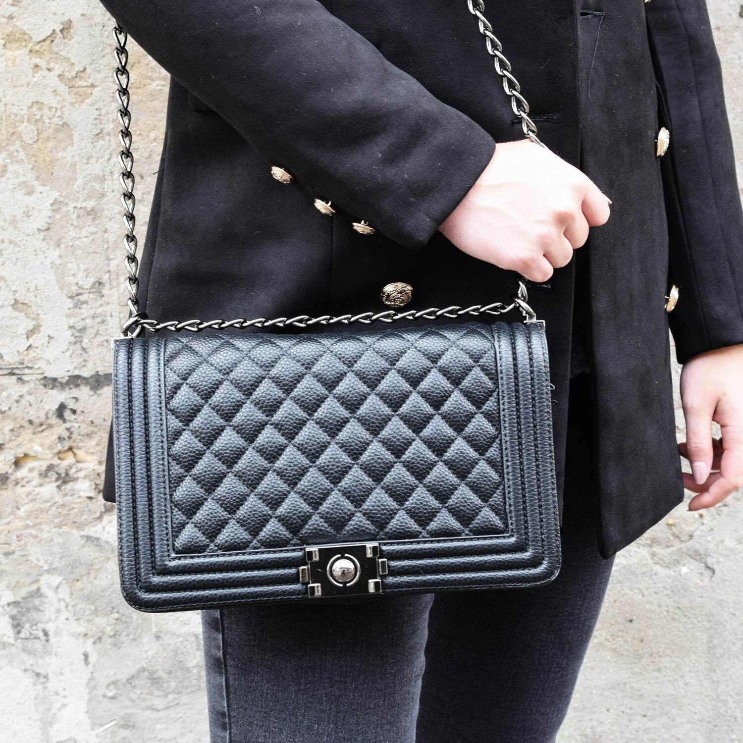 BLACK LADY BAG