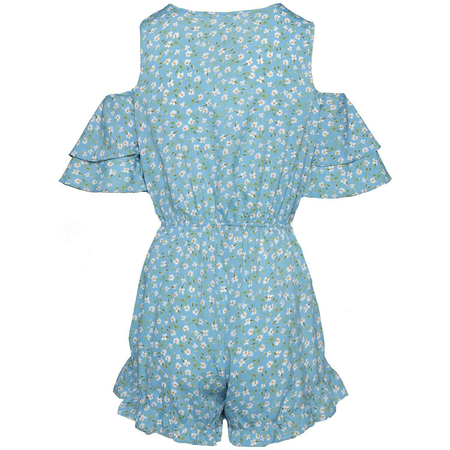 BLUE DAISY PLAYSUIT
