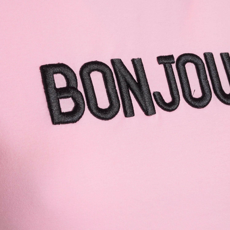 PINK BONJOUR TEE