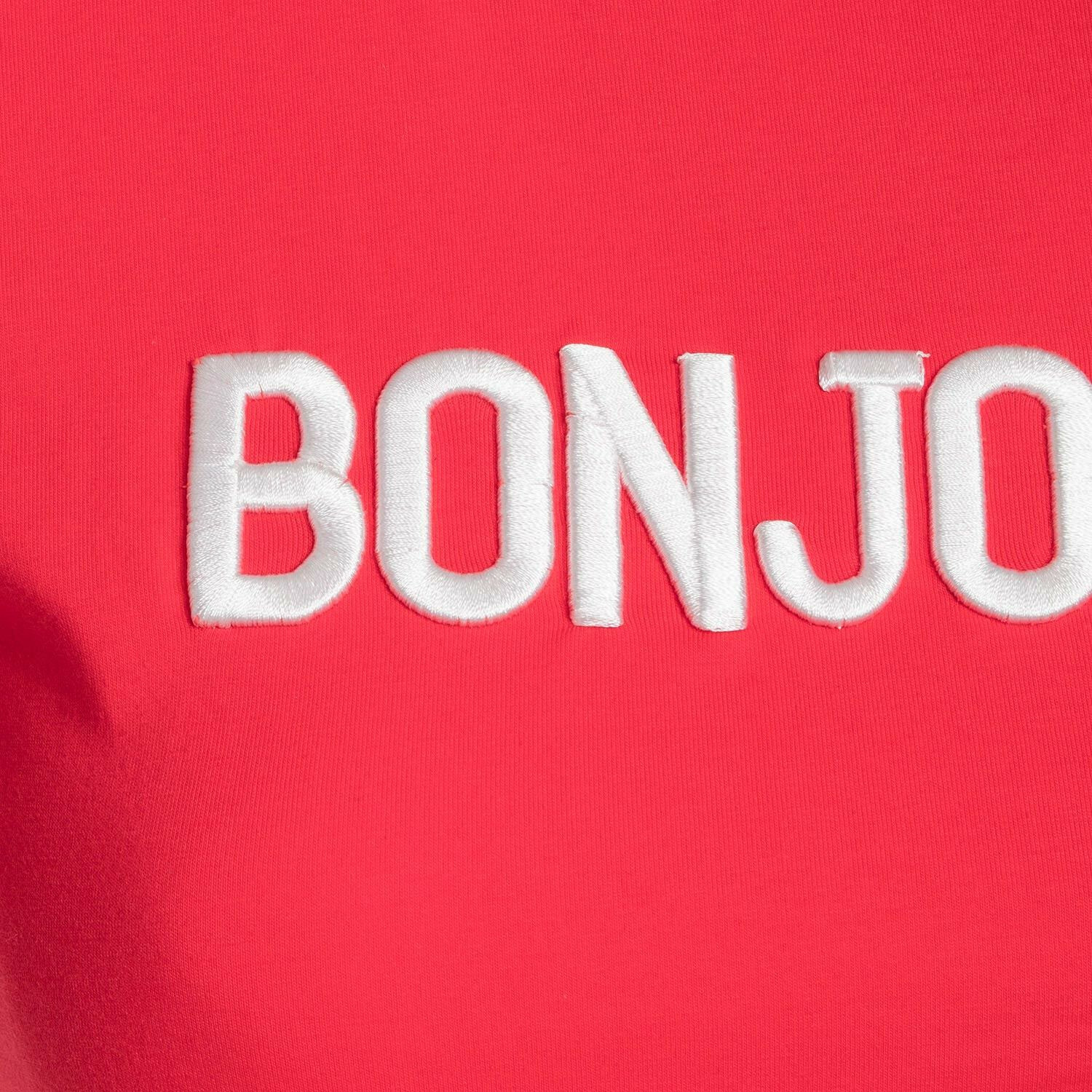 RED BONJOUR TEE