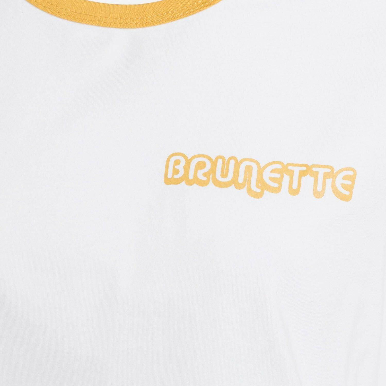BRUNETTE RINGER TEE