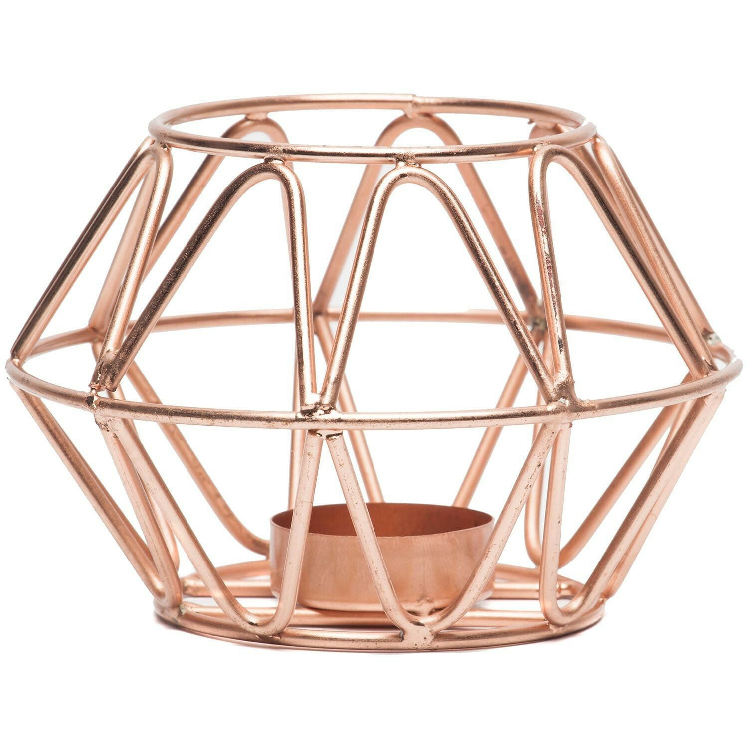 COPPER COZY CANDLEHOLDER