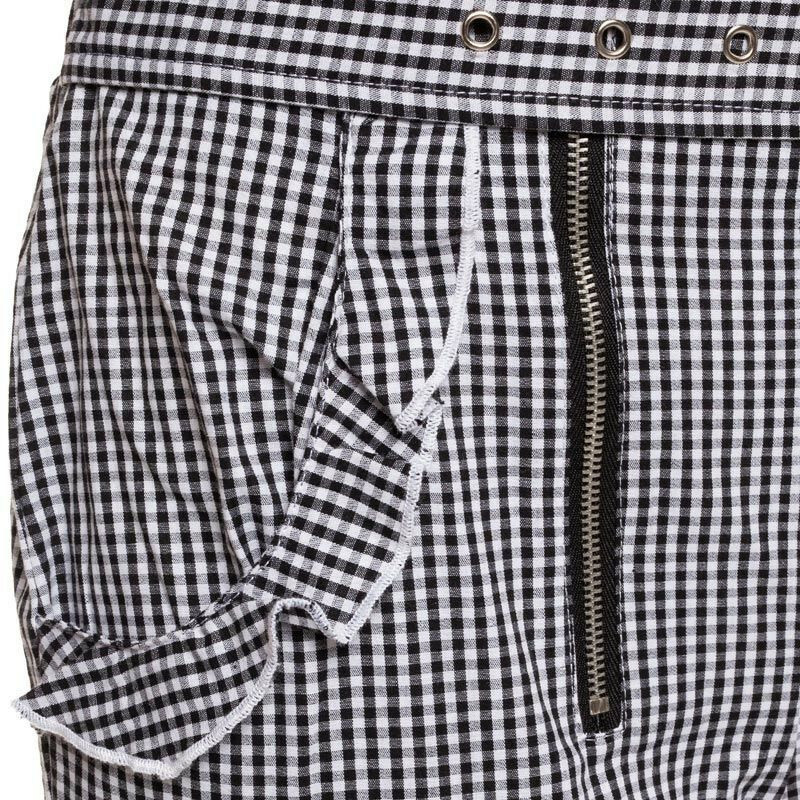 PUNKY CHECKED TROUSERS