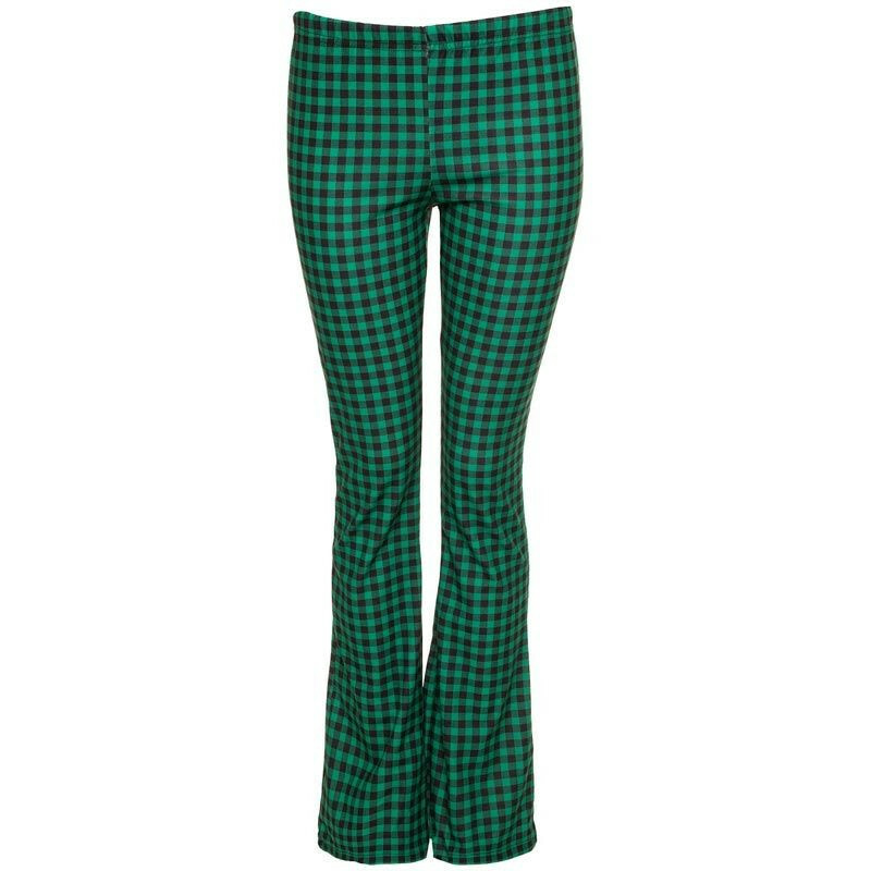GREEN CLUELESS FLARES