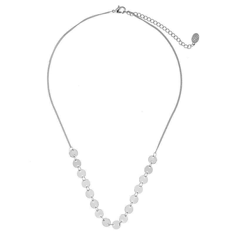 DOT ME UP NECKLACE SILVER