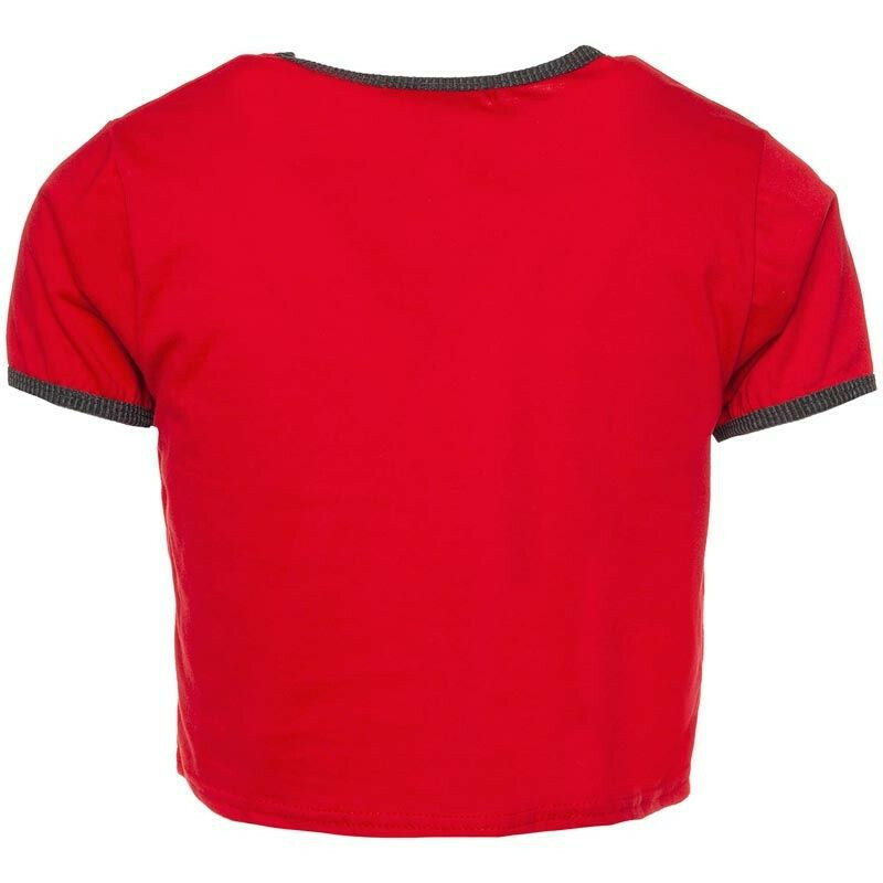 RED COLORADO CROP TOP