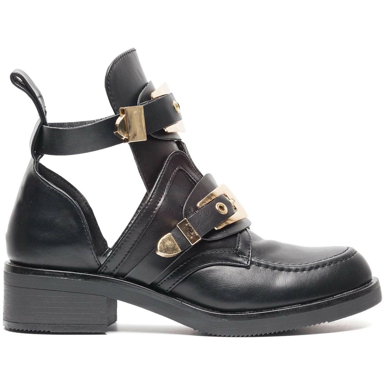 Laarzen cut out buckle Schoenen
