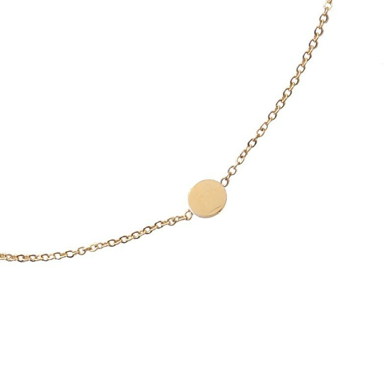 GOLD SWEET DOTS NECKLACE