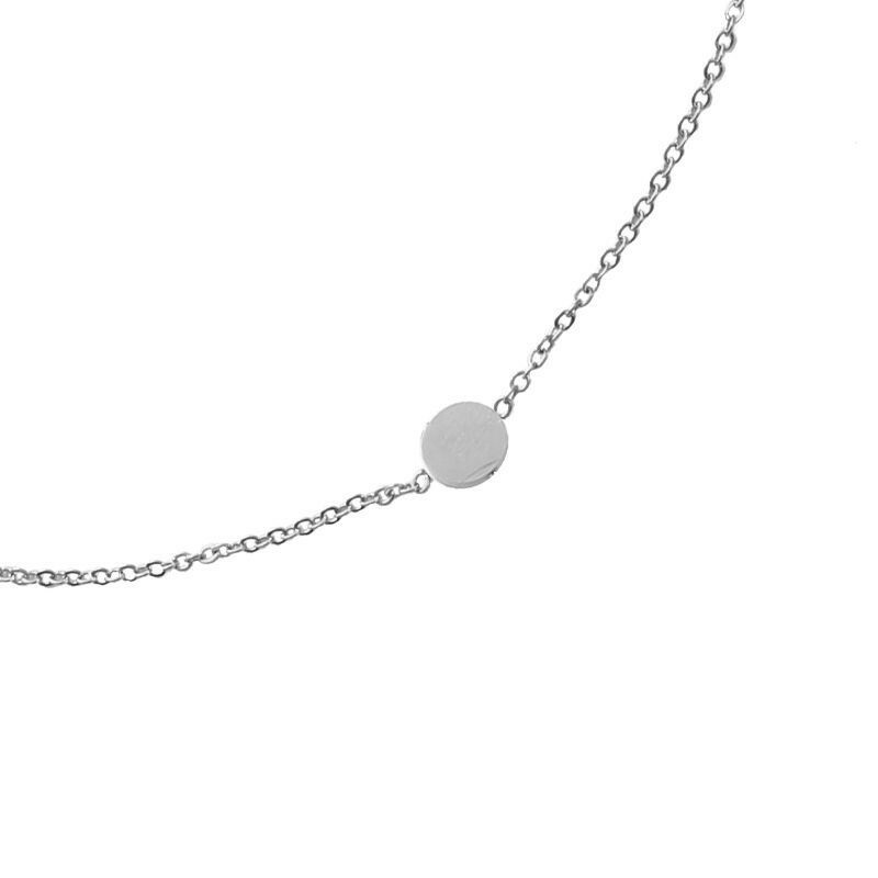 SILVER SWEET DOTS NECKLACE