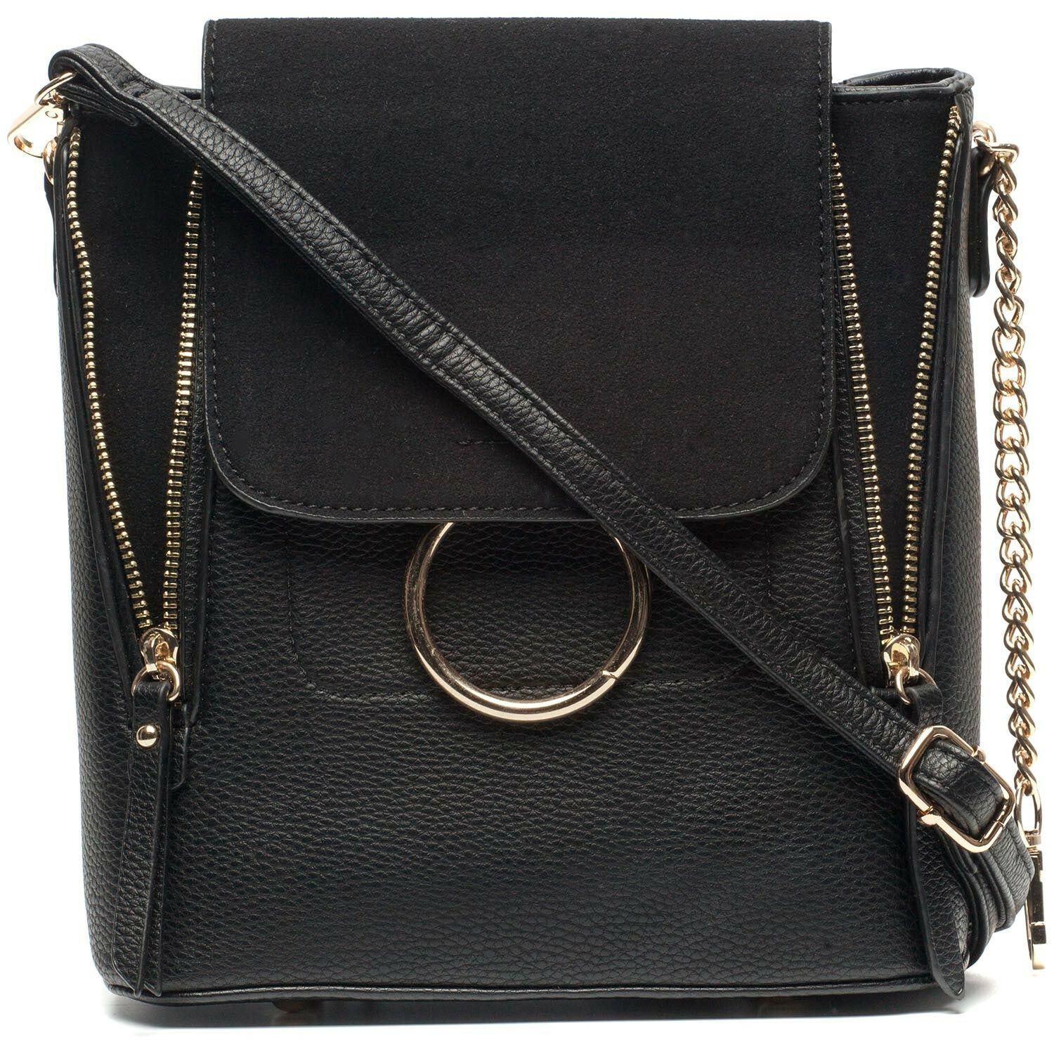 BLACK MULTIWAY BAG
