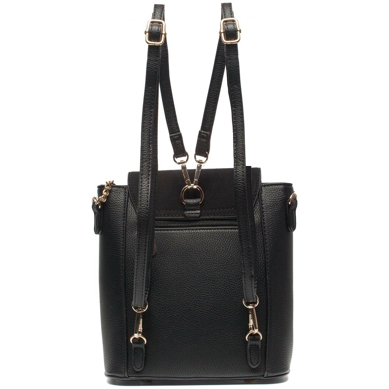 BLACK MULTIWAY BAG