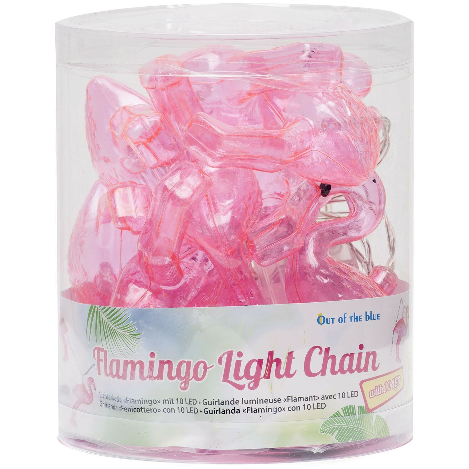 FLIRTY FLAMINGO LIGHT CHAIN