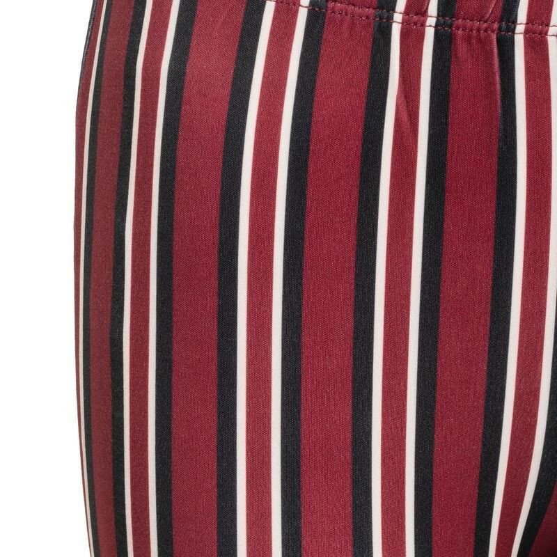 FLARED STRIPED PANTS
