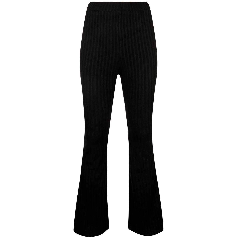 FLARED BLACK PANTS