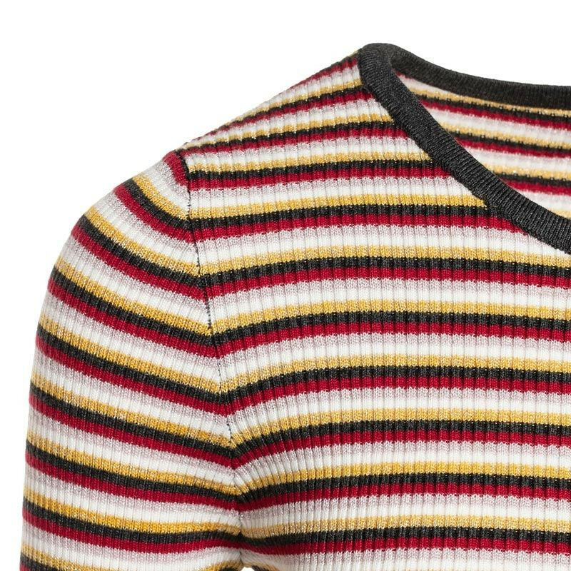 STRIPED SALLY TOP RED