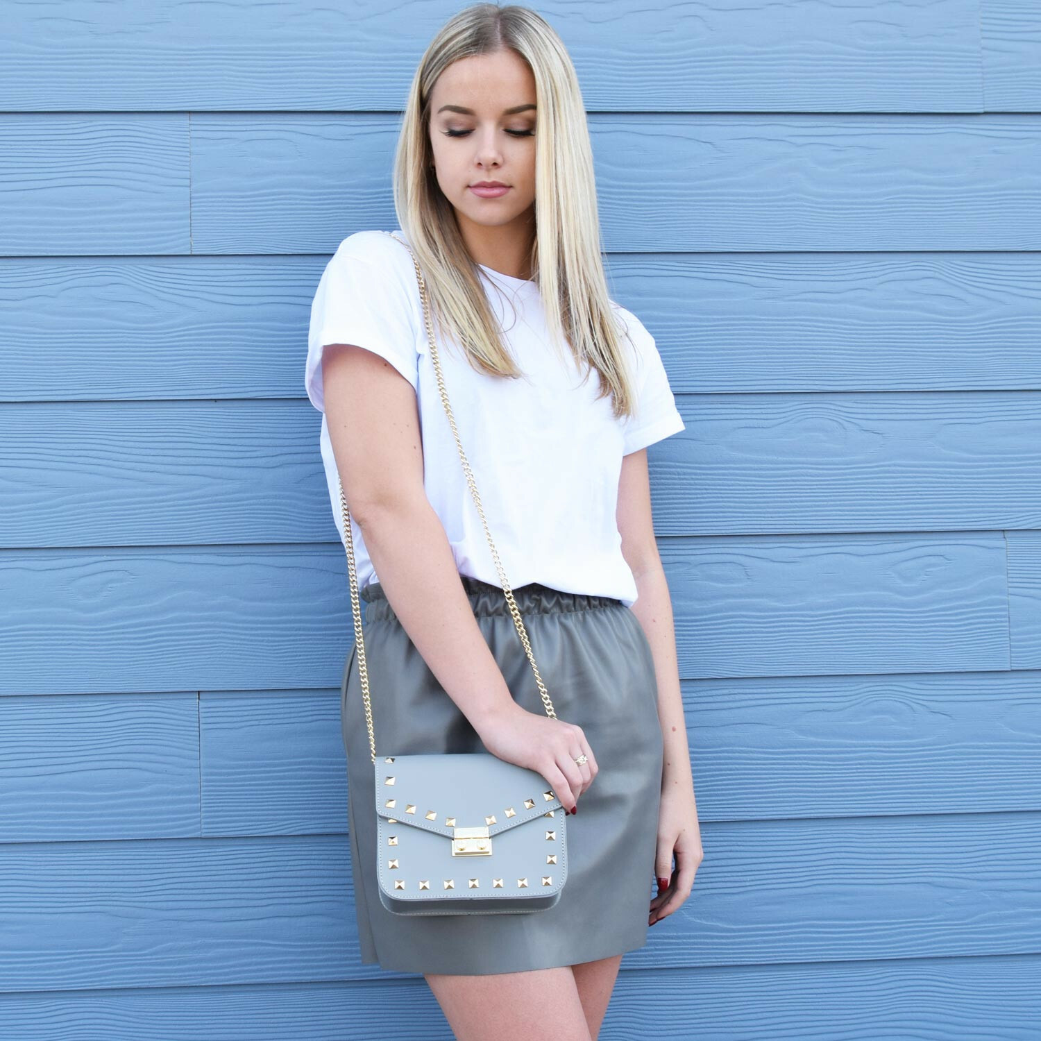 GOLD STAR BAG GREY