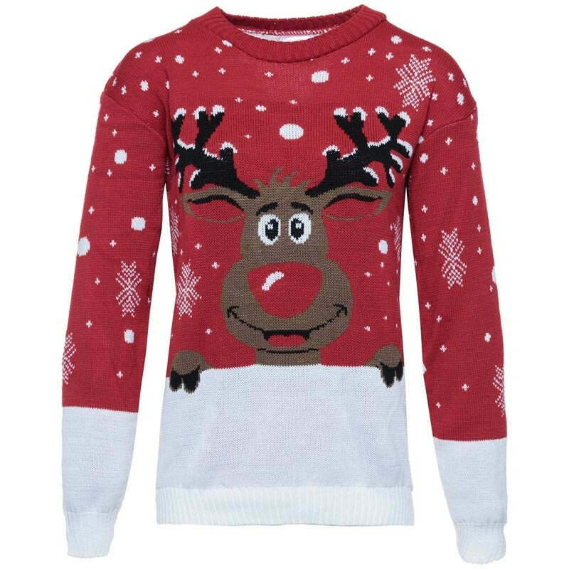 Olaf Kersttrui.Kerst Trui Rudolph Sweaters Comegetfashion