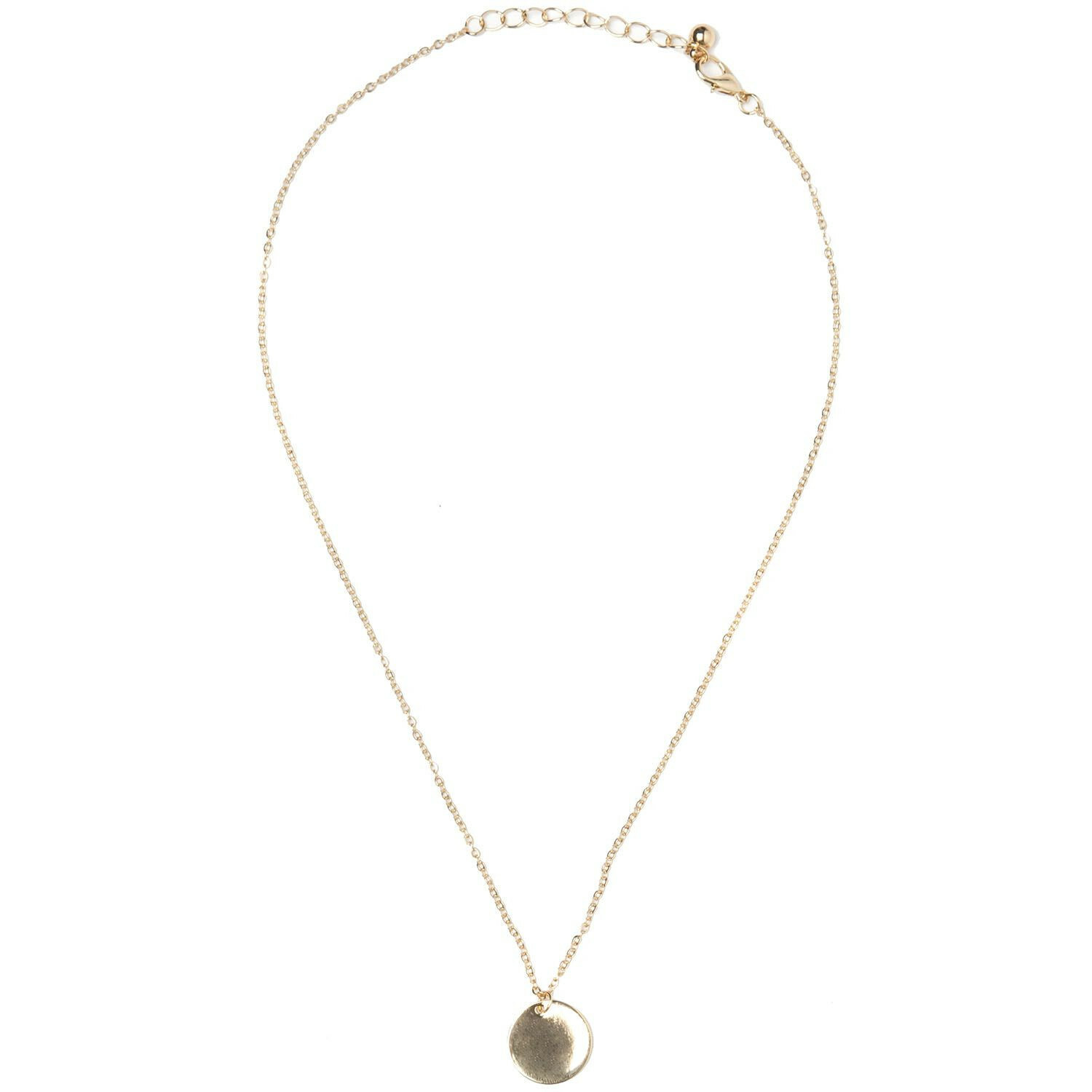 GOLD PLAQUE NECKLACE
