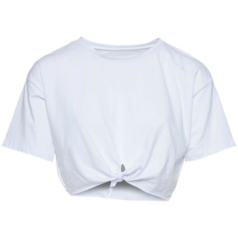 WHITE HOT OR KNOT TEE