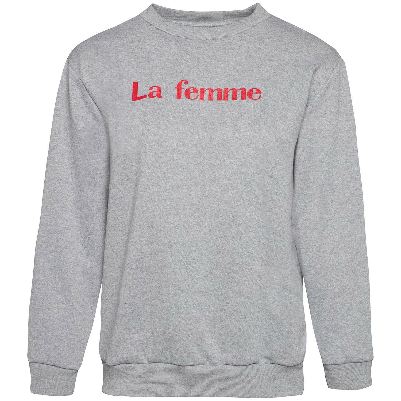 LA FEMME SWEATER GREY