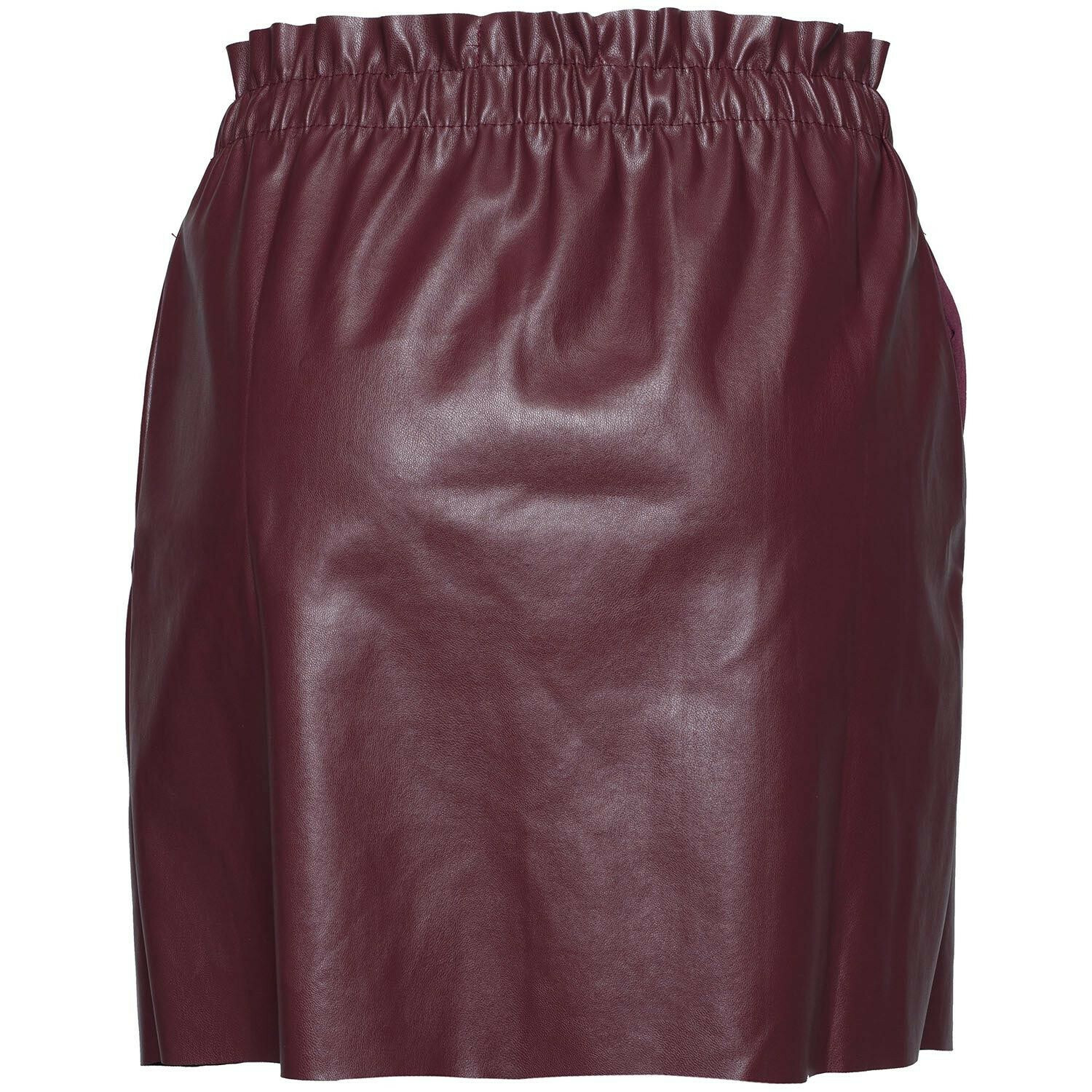 BURGUNDY GIRLIE SKIRT