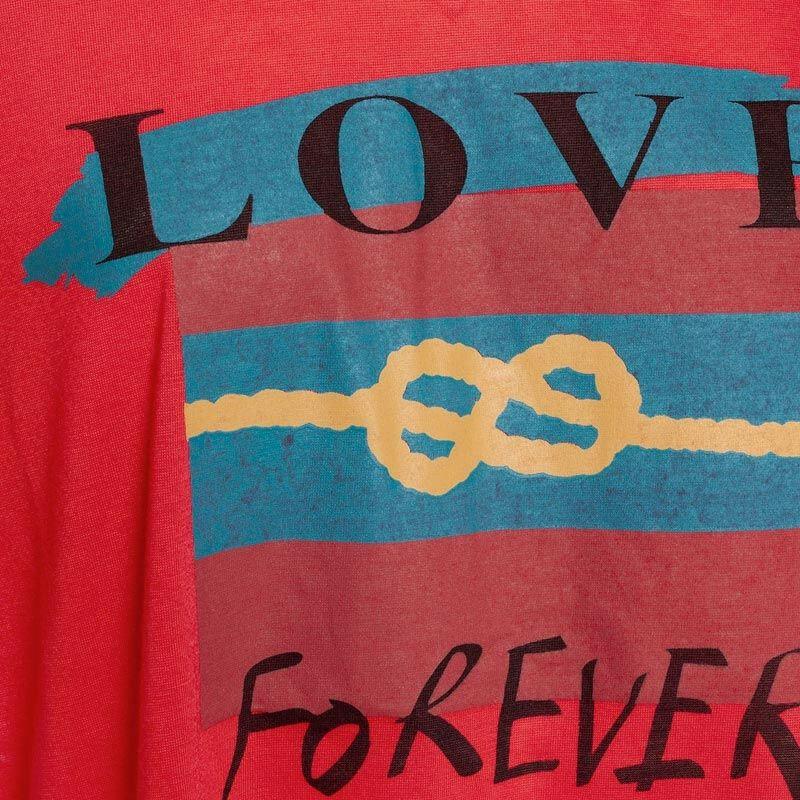 RED INFINITE LOVE TEE