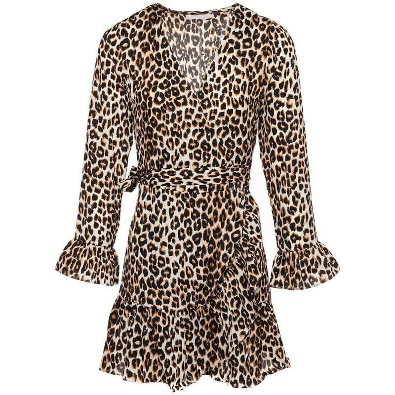 LOVELY LEOPARD DRESS
