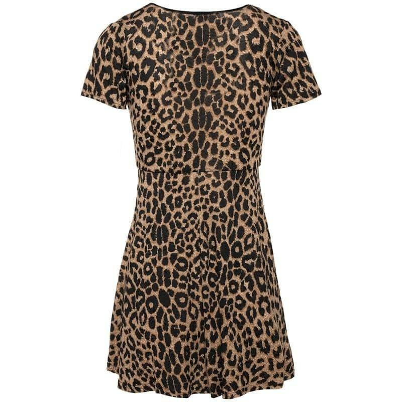 LITTLE LEOPARD DRESS