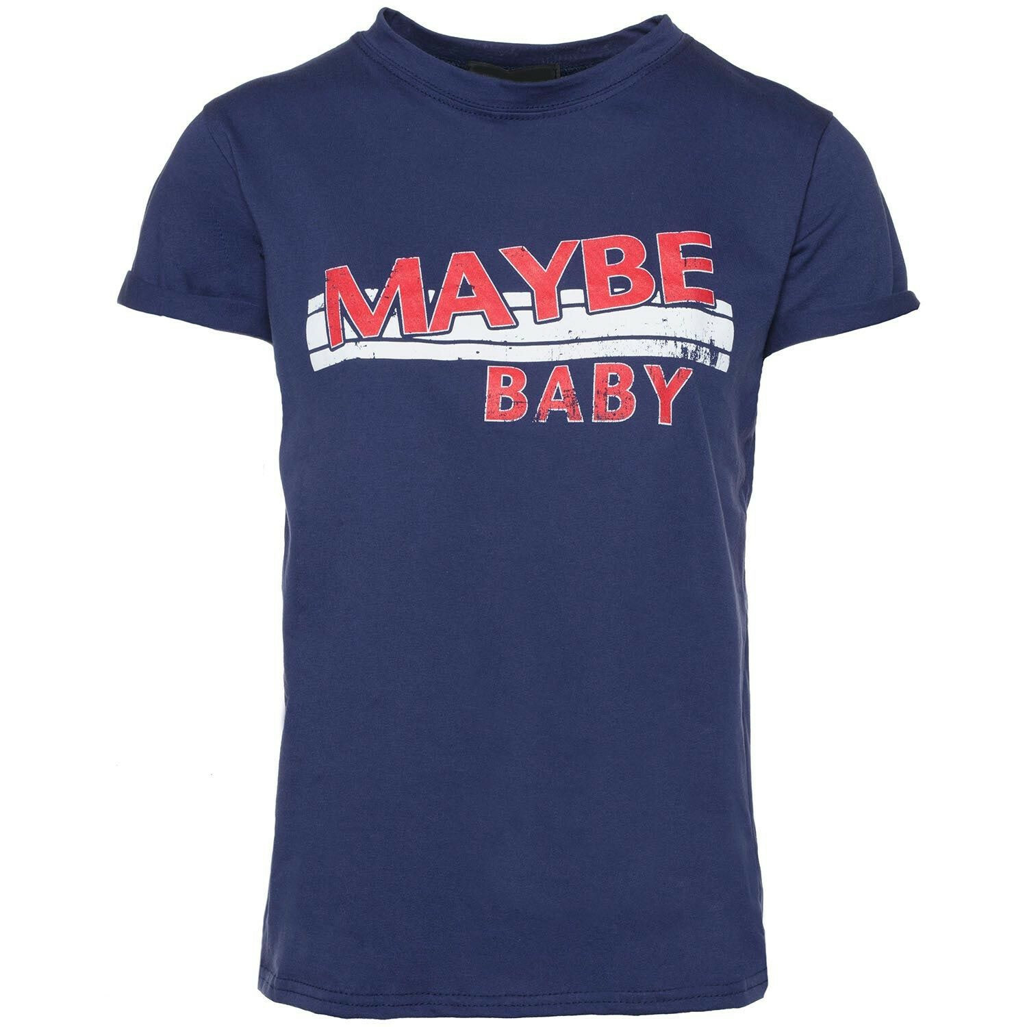 BLUE MAYBE BABY TEE
