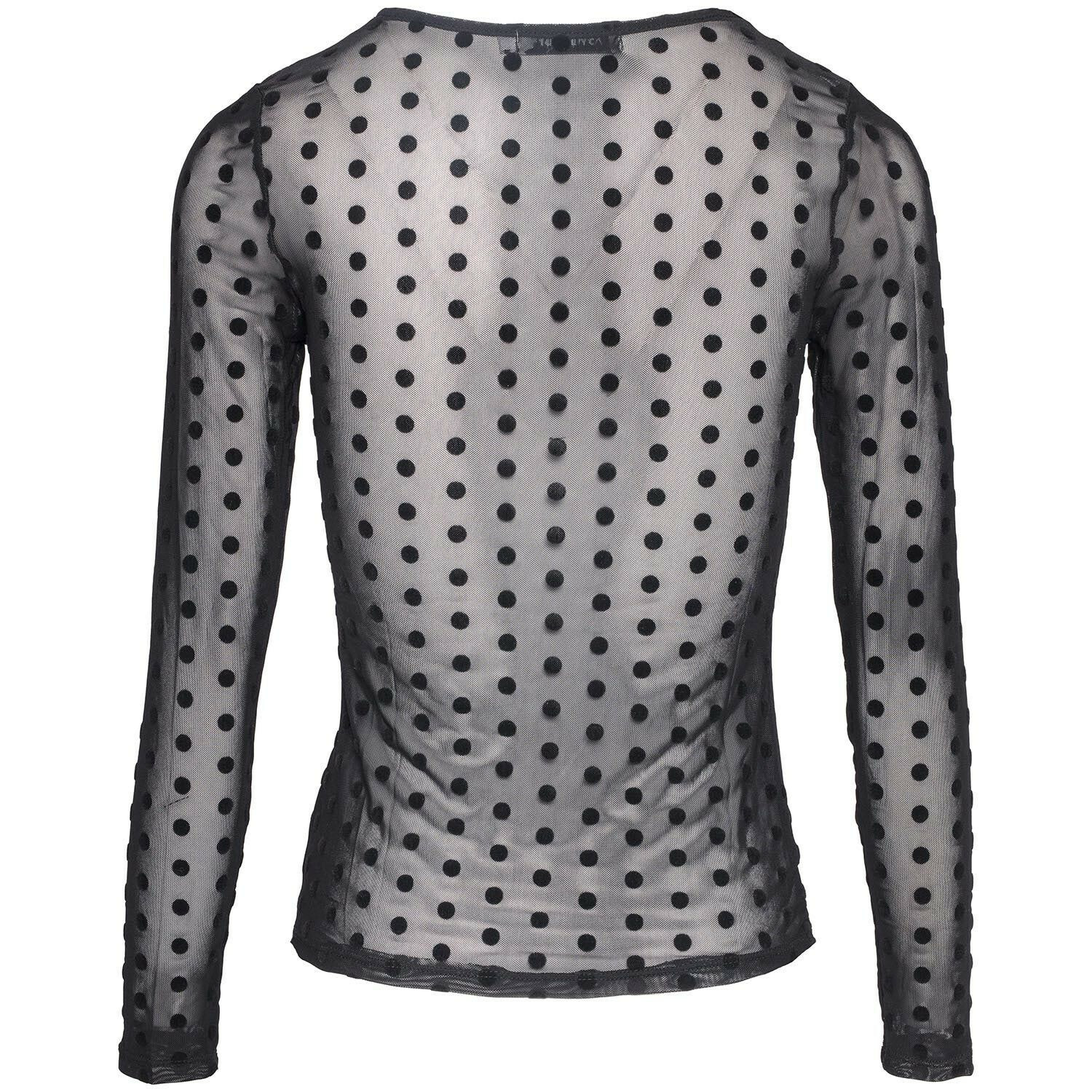 MESHED UP DOTS TOP