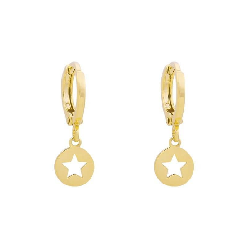 MY STAR EARRINGS GOLD