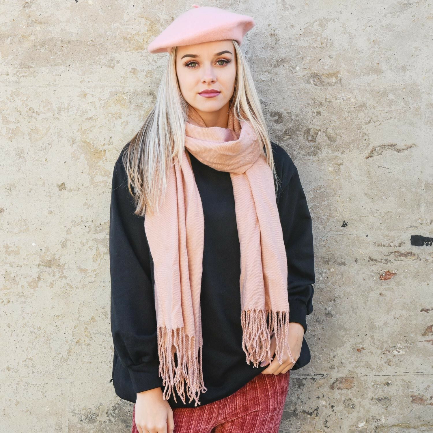 PERFECT PINK SCARF