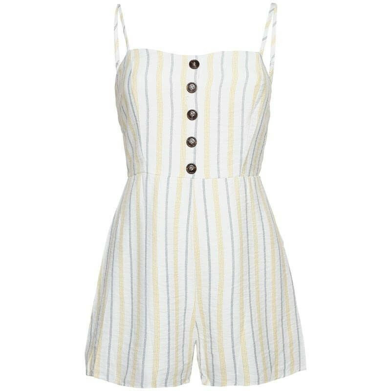 BACK TO BEACHY PLAYSUIT