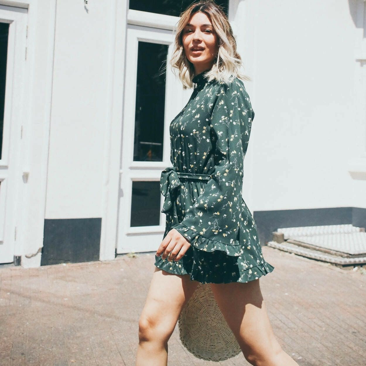 INTO THE FOREST PLAYSUIT