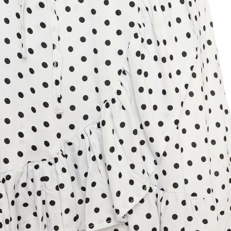 THAT WHITE DOTTED DRESS