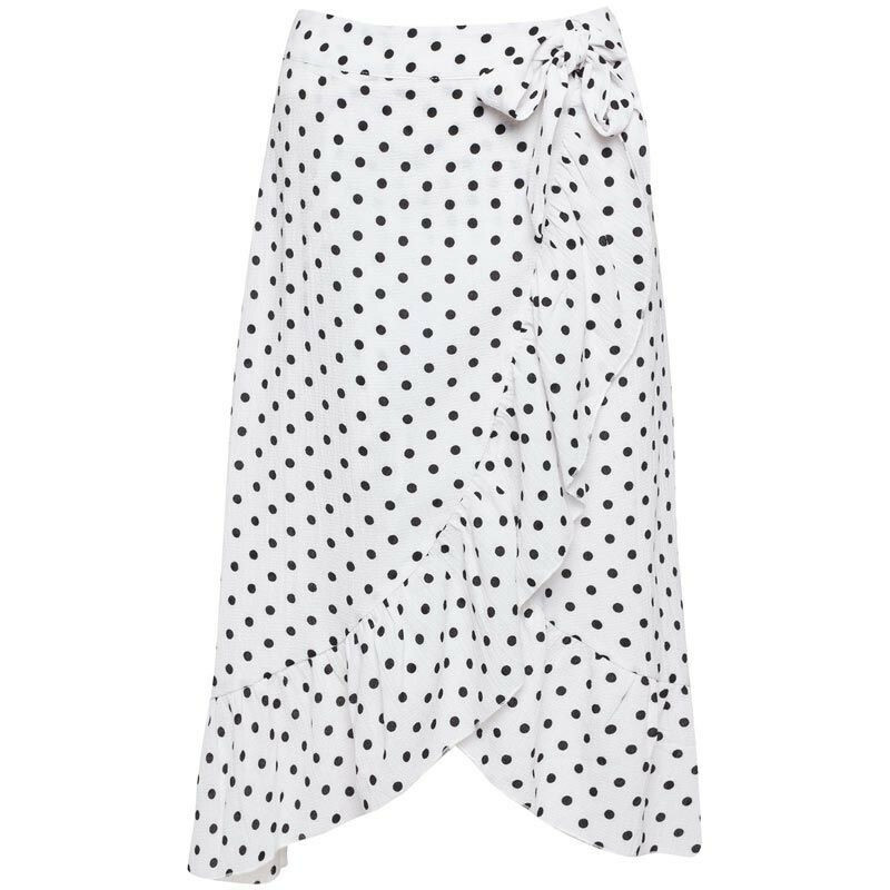 WHITE SUMMER BREEZE SKIRT