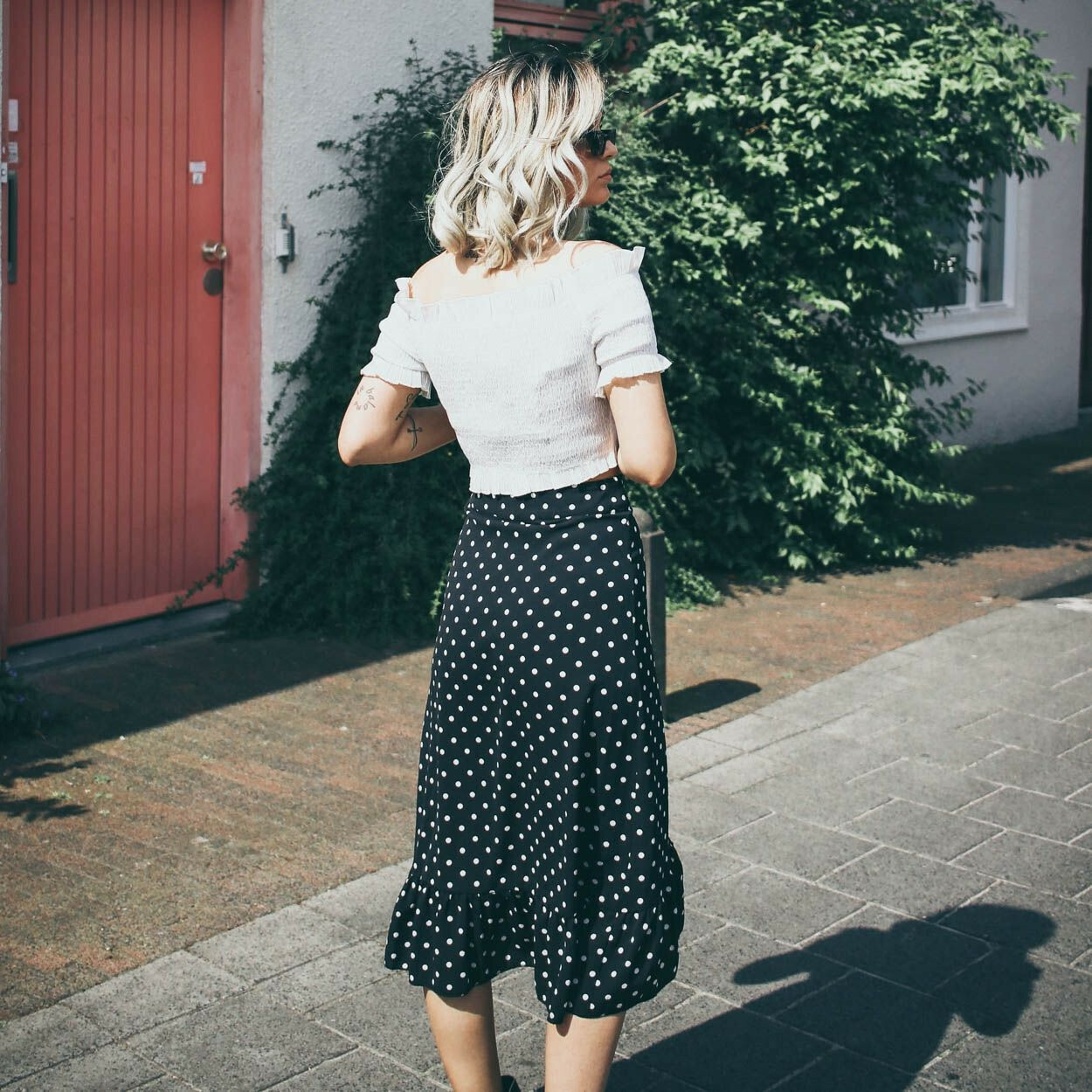 BLACK SUMMER BREEZE SKIRT