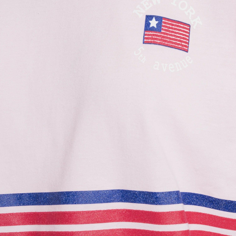 PINK USA VARSITY TEE