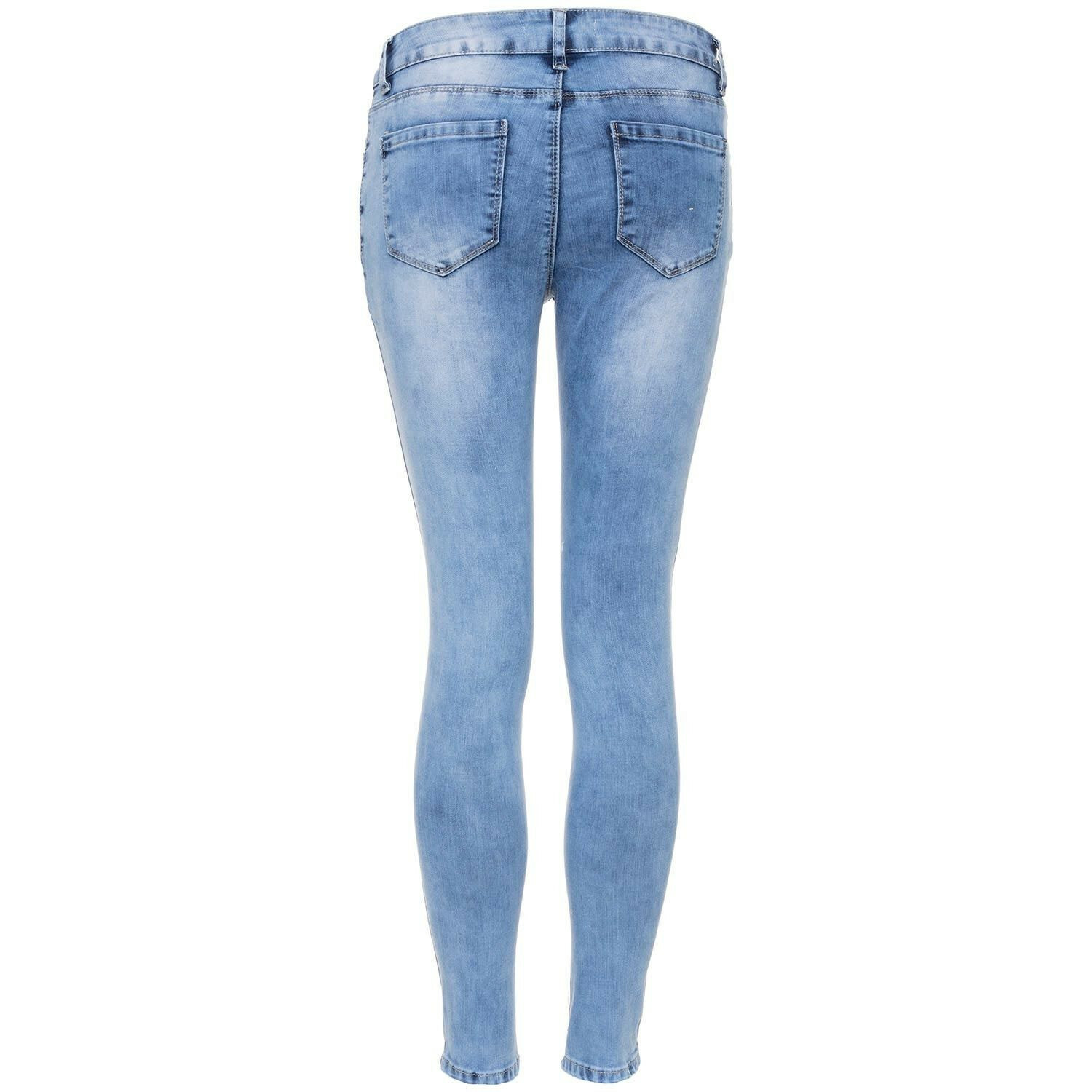 EDGY RIPPED SKINNY JEANS