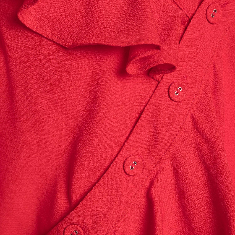 GIRLBOSS BLOUSE RED