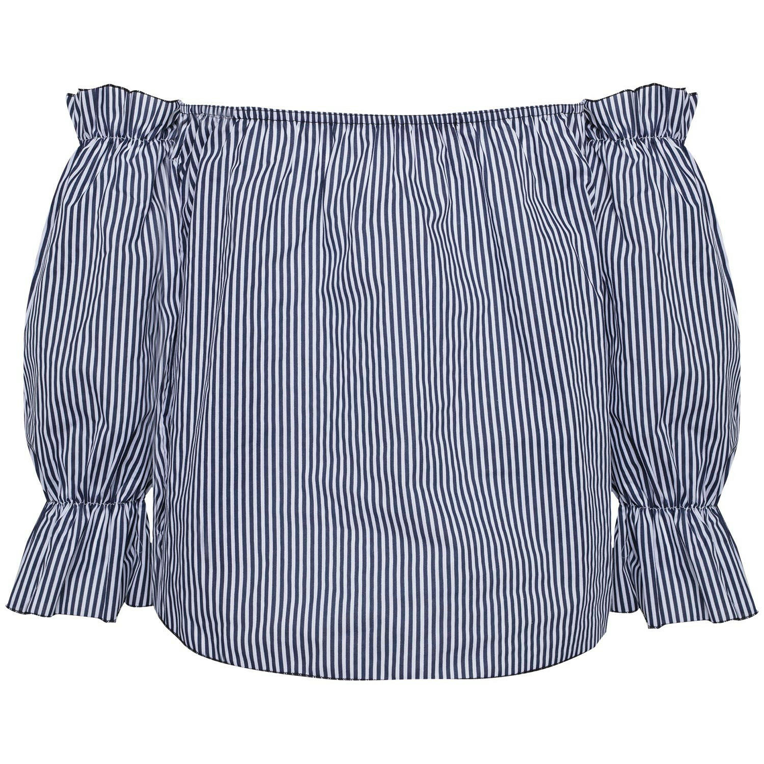 STRIPY BARDOT TOP