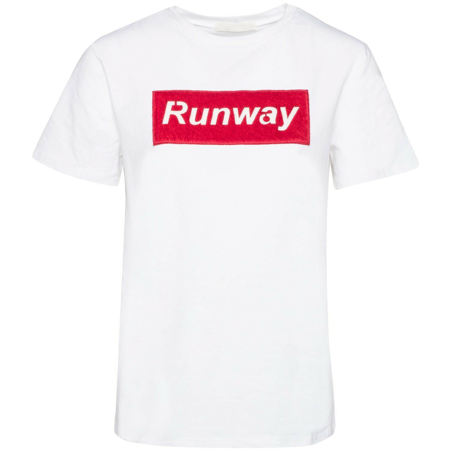 LIFE IS A RUNWAY WHITE