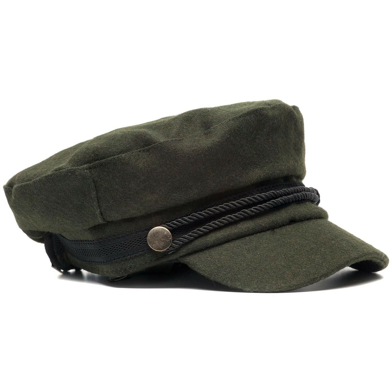 GREEN FISHERMAN'S CAP