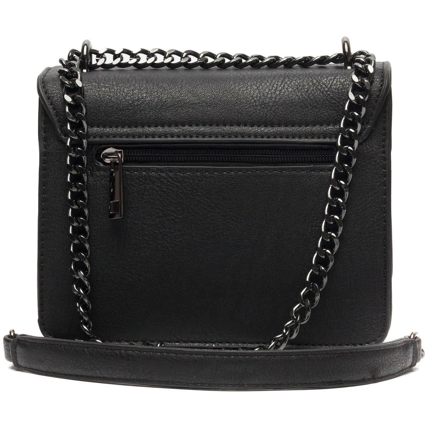 SMALL TRENDY BLACK BAG