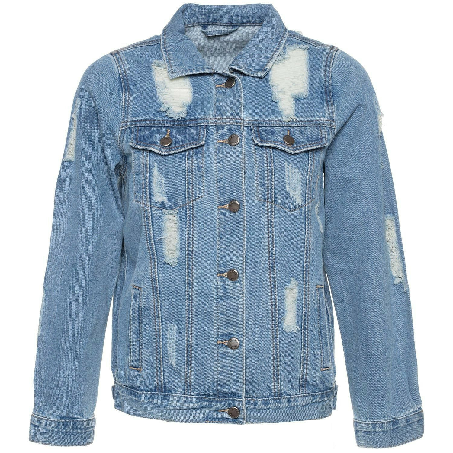 TOUGH LOVE DENIM JACKET