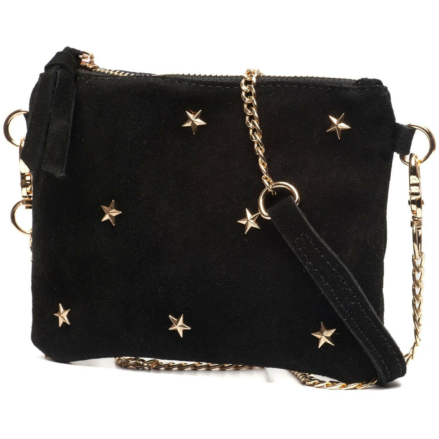 SMALL LEATHER STAR BAG
