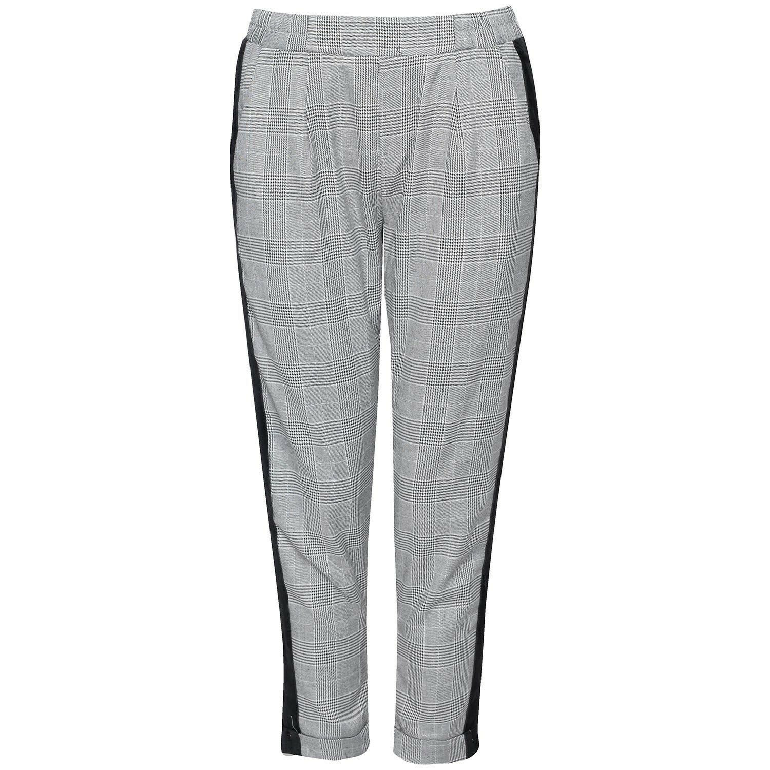 SPORTY CHECKED PANTS
