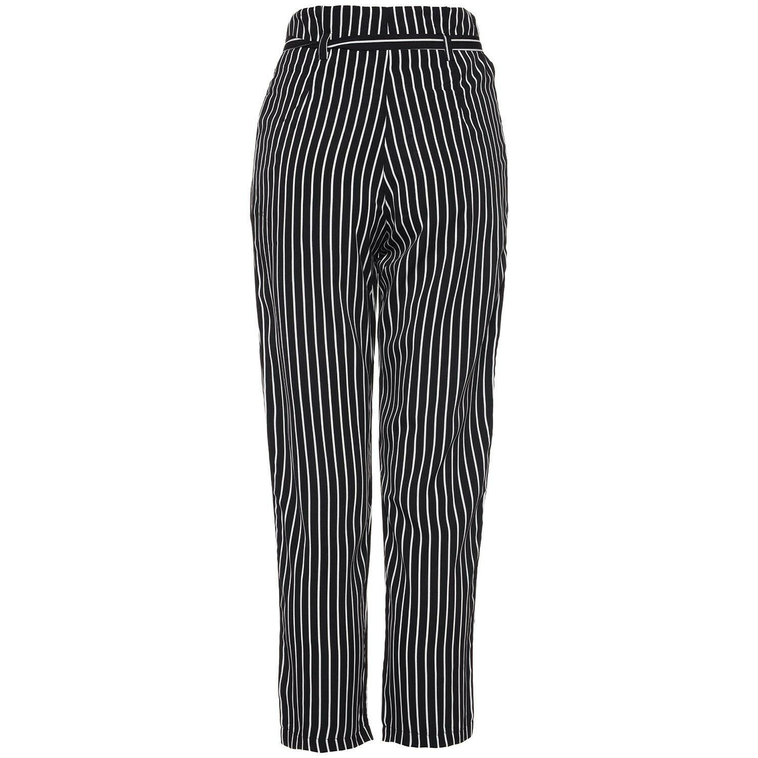 MONOCHROME TIED PANTALON