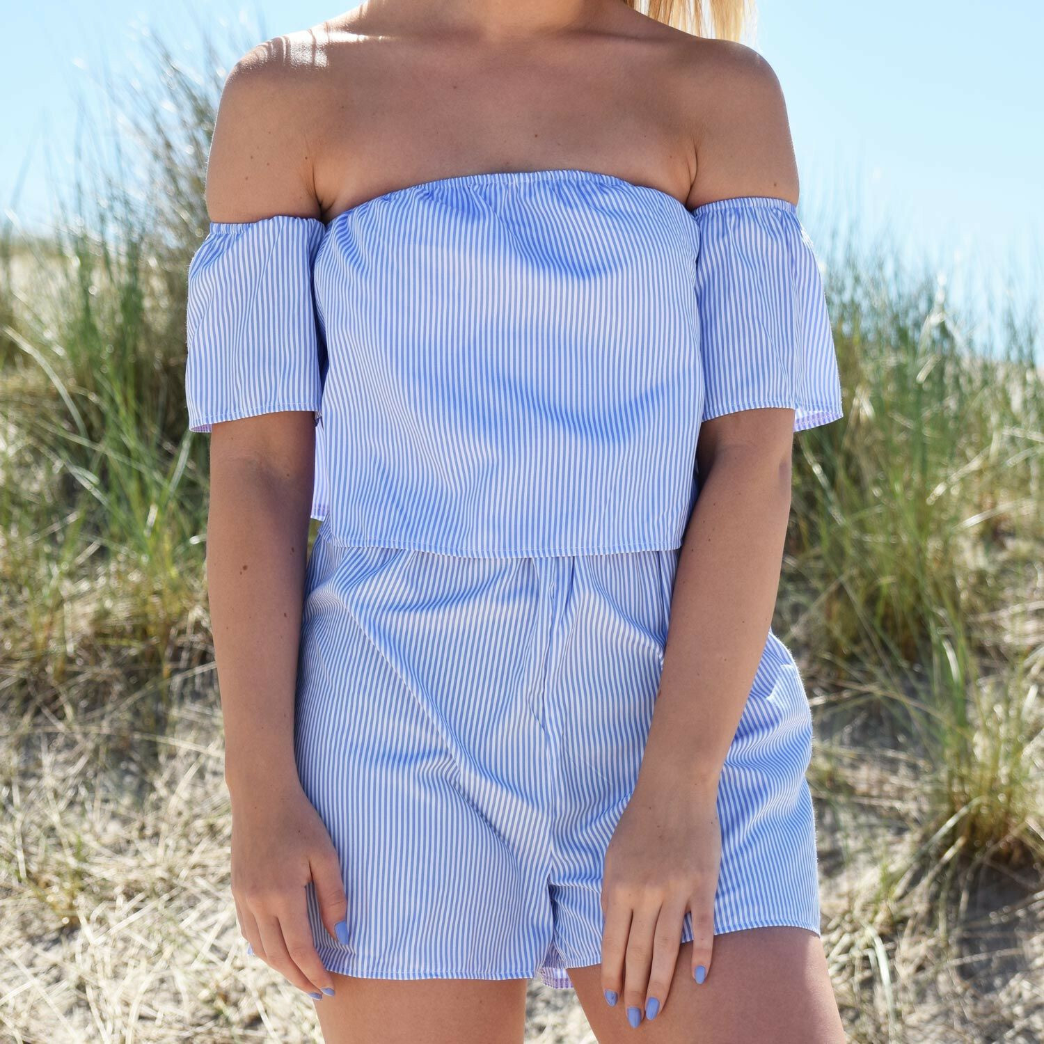 HEAD IN THE CLOUDS PLAYSUIT
